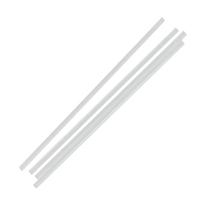 Sustain Plastic Straw Clear 196x5MM