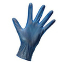 KClean Blue Vinyl Glove Medium