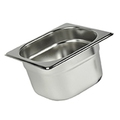 Stainless Steel 1/6 Gastronorm Container 65mm