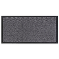 Commodore Barrier Dust Control Mat Grey & Black 80x140CM