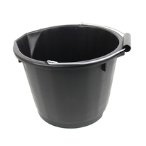 Industrial Bucket Black 15 Litre