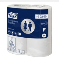 Tork Conventional Toilet Roll Adv 2ply 200 Sheets