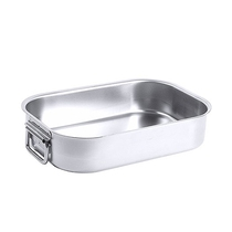 18/10 Stainless Steel Roasting Pan 37.5x27.5x7.5cm