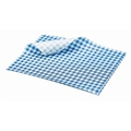 Blue Gingham Greaseproof Paper 25x20